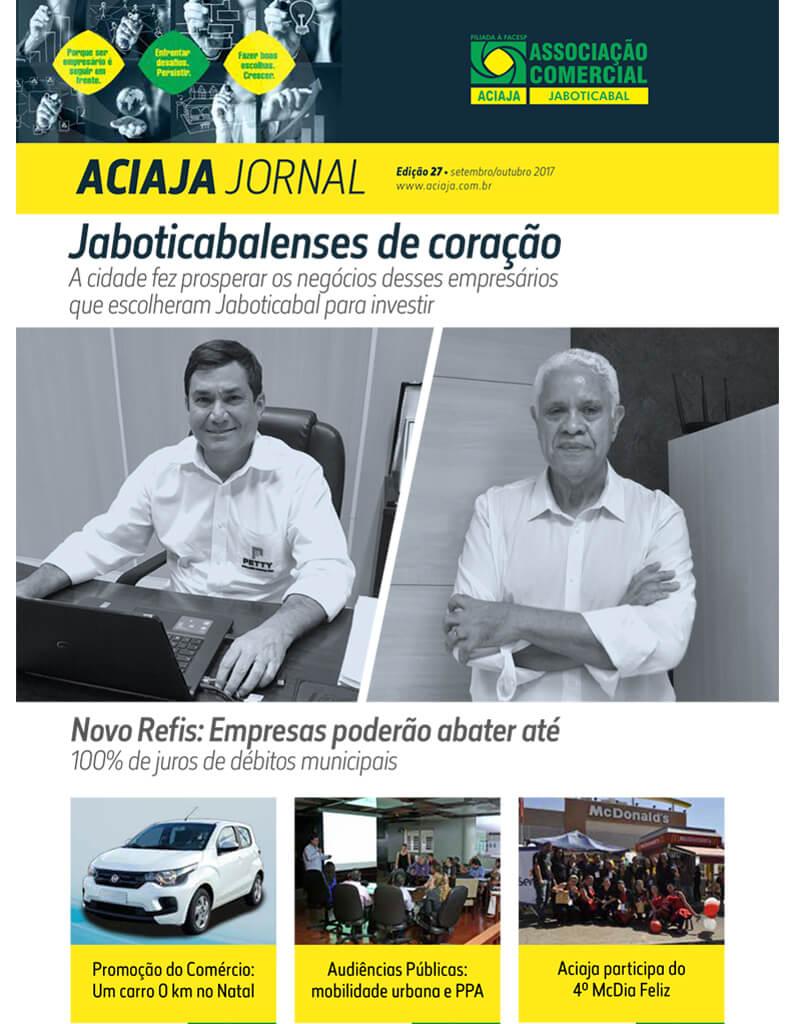 Jornal Aciaja - Setembro 2017