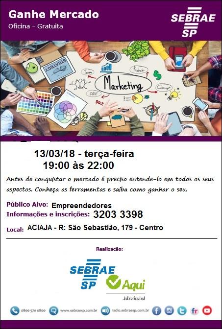 Ganhe Mercado 13-3-18