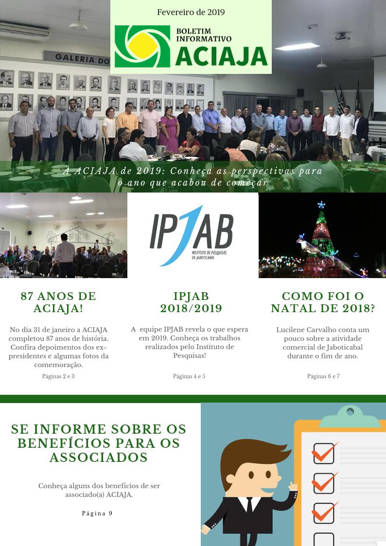 Boletim Informativo ACIAJA - Fev 2019 (1)